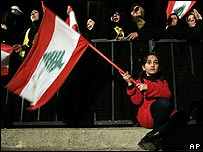 Hezbollah supporter in Beirut