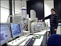 equipment in Reading physics department