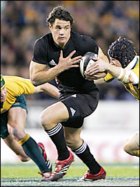 All Blacks fly-half Dan Carter