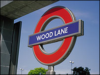 Wood Lane Tube station