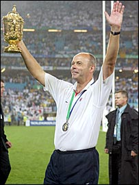 Woodward was knighted for his part in England's World Cup triumph