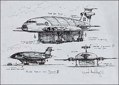 Thunderbird 2 drawing