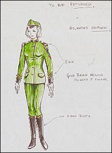 Stingray uniform sketches