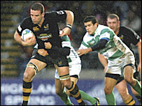 Wasps number eight Joe Worsley