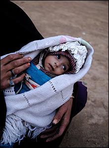 Baby Merzia in Sya Kamarak village