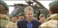 Tony Blair in Afghanistan