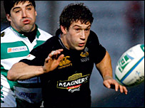 Wasps centre Dominic Waldouck
