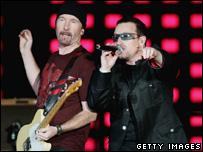 U2 in Australia