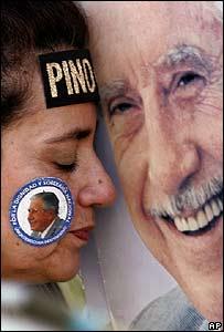 Seguidora de Augusto Pinochet