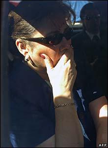 Gen Pinochet's daughter, Lucia Pinochet Hiriart