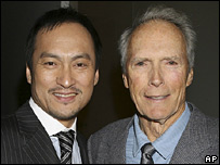 Ken Watanabe and Clint Eastwood