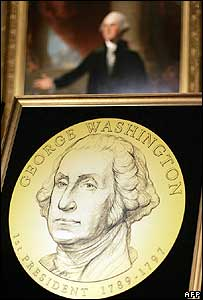 George Washington will be the first coin released in 2007 by the US Mint
