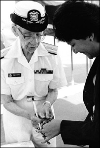 Rear Admiral Grace Hopper, US Navy