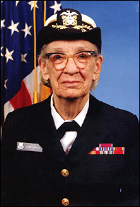 Read Admiral Grace Hopper, US Navy