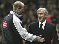 Blackburn manager Mark Hughes