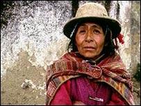 Indígena boliviana