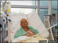 Alexander Litvinenko in London hospital