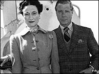 Edward VIII and Mrs Simpson