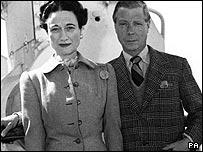 Edward VIII and Mrs Simpson