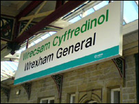 Wrexham station
