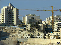 The Maale Adumim settlement in the West Bank