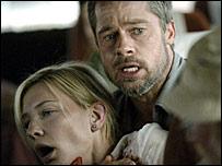 Cate Blanchett and Brad Pitt in Babel