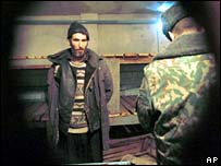 Chechen detainee