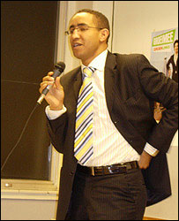 PvdA candidate Ahmed Larouz