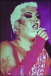 Bulgarian chalga singer Azis