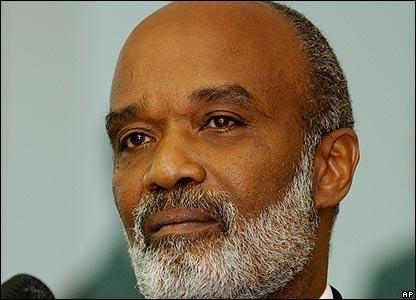 R�ne Pr�val, presidente de Hait�