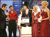 A scene from TV show Dansez Pentru Tine