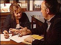 Steve meets Kathy Sykes