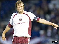 Former Hearts captain Steven Pressley