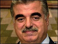 Assassinated ex-Lebanese PM Rafik Hariri