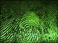 Green electronic fingerprint