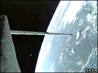 Discovery en órbita