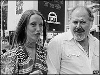 Shelley Duvall and Robert Altman