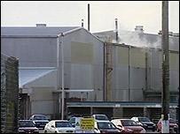 Alcoa's Swansea factory