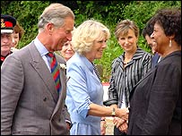 Prince of Wales and Duchess of Cornwall in Wales earlier this year
