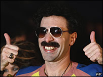 Sacha Baron Cohen as Borat
