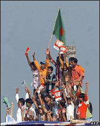 Bangladeshi cricket fans