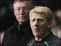 Sir Alex Ferguson and Gordon Strachan