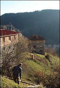 Simon Gompertz in Bulgaria