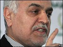 Iraqi Vice-President Tariq al-Hashimi