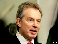 PM Tony Blair