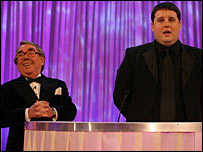 Ronnie Corbett and Peter Kay