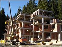Building in Bulgaria