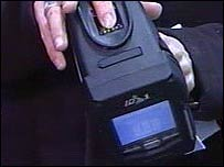 Patrols will carry the fingerprinting device