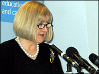 Ofsted Chief Inspector Christine Gilbert
