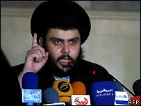 Shia cleric Moqtada Sadr